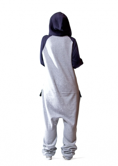 Combo Navy Onesie Back